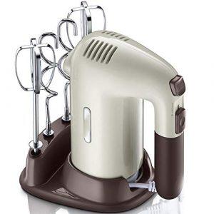 DJG Wisks pour La Cuisson Électrique Portable Multifonctions Alimentaire Blender Cuisson Crème Mixer Mini Eggbeater Petite Verticale Pétrissage Mélangeur Accueil Cuisine