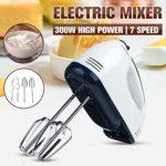 LQ Manuel Mini 7 Vitesse pâte Batteur Alimentaire Blender Multifonction Portable Robot électrique Automatique Cuisine Mélangeur Outil