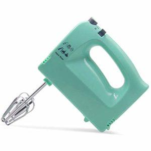 Électrodomestiques Fouet Batteur, 5 vitesses Batteur électrique avec bouton Turbo, Fouet à main for la cuisine cuisson gâteau oeuf crème alimentaire Batteur, 2X Beaters et pâte à modeler crochets