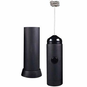 Batteur Fouet Machine à mousse électrique pour mini mousseur à lait portatif |Comprend un support de cuisine, un batteur à œufs au lait chaud