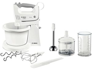 Bosch MFQ36490 Mixeur (fouet, 1,3m, 0,5l, CE, VDE, blanc, 450W)