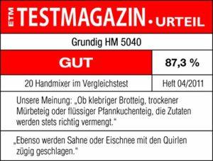 Grundig HM 5040 Fouet électrique à main 300 W