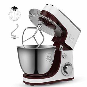 CMAO Mixer Robot,Machine multifonctionnelle de Chef Domestique pour mélanger la Viande hachée et fouetter la Machine à pétrir Le Blanc d'oeuf et la crème