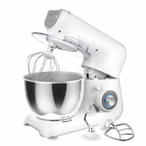 CMAO Robot Pâtissier,Mélangeur de Nouilles ménage Petit Chef Machine mélangeur Multifonctionnel Fouet entièrement Automatique 1200W