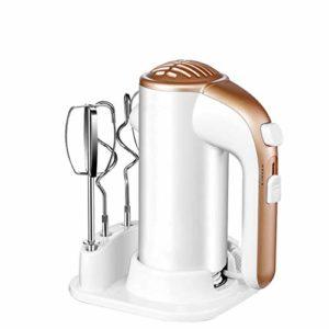 N A Mélangeur à Main électrique, mélangeur électrique à 5 Vitesses 200 W, Fouet de Cuisson des Aliments de Cuisine, mélangeur à Main léger pour la Cuisson de la Cuisine, Mini-crème aux œufs