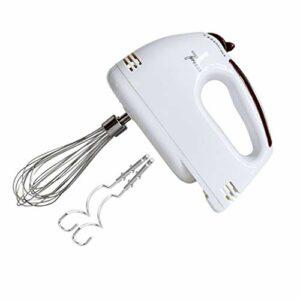 VHNBVHGKGHJ Batteurs à Oeufs électriques Mélangeur de crème à fouetter Barre de Brassage Batteur Domestique de Cuisson (Blanc)
