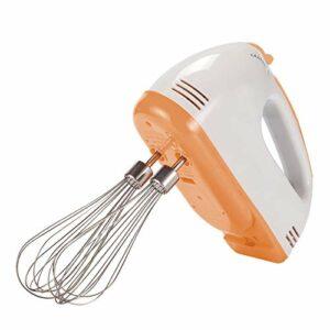 BAIHAO Fouet électrique à Main de Cuisine, mélangeurs d'oeufs de Cuisson réglables à 7 Niveaux de Vitesse Fouet Multifonction Batteur à crème