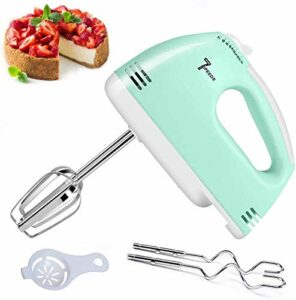 Tenue à La Main Batteur électrique, Fouet électrique 7 Vitesses 180 W Food Beater pour La Cuisson des Aliments De Cuisine