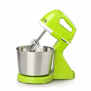 XiaoDong1 Fouetter à la Maison Tabletop Whisk Fouetter Creamer Caker Cake Cake Whisk (Blanc, Vert) (Color : Green)