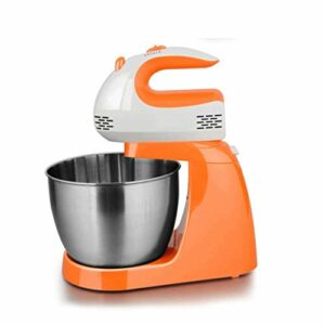 Batteur d'œufs, mélangeur de stand à 5 vitesses avec bol de mélange en acier inoxydable, crochets de pâte et batteurs de mélangeur pour glaçage, meringues et plus,cuisine