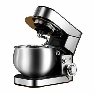 Petit mélangeur automatique ménager – Fouet multifonction – Grande capacité – Répond aux exigences des fêtes de famille – Couleur : argenté