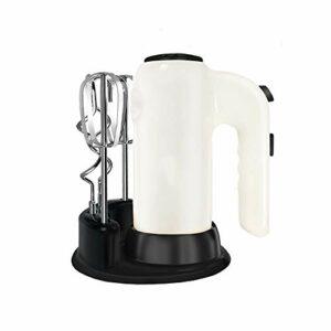 YWSZJ Mélangeurs d'aliments 5 Vitesses Mélangeur de pâte en Acier Inoxydable Batteur à Oeufs Mélangeur de pâte avec mélangeur électrique pour la Cuisine