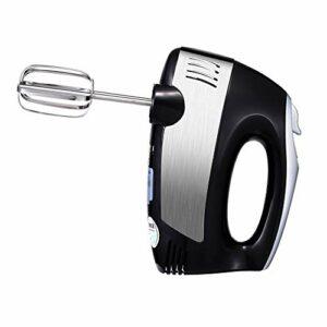 YWSZJ Mélangeurs Multifonctions à 5 Vitesses mélangeur de pâte électrique Batteur à Oeufs mélangeur Fouet en Spirale pour Cuisine