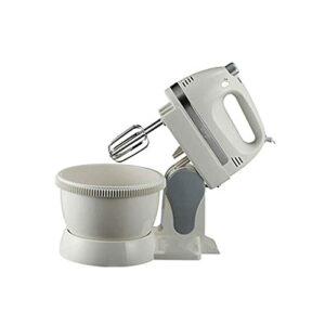 Bdesign Batteur d'oeufs automatiques ménagers avec Baril d'acier Inoxydable de Canon 350W d'œufs et de Nouilles