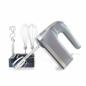 ELXSZJ XTZJ Mélangeur électrique de Poche, Batteur d'œuf à la Main, épaule électronique Méleuse de Machine de Cuisson de Cuisson de Cuisson 2021, mélangeur à Main 9 Vitesse 400W