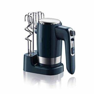 ELXSZJ XTZJ Mélangeurs à Main électrique, mélangeur de Pochette de Cuisine à 10 Vitesses 300W avec Turbo pour fouetter des Biscuits de mélange, pâte à pâte, batteurs de mélange léger