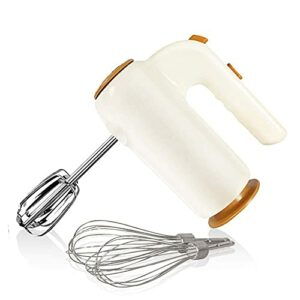 HYLK Mélangeur à Main électrique, mélangeur de Cuisine à Main à 5 Vitesses avec éjection, Comprend 2 batteurs et 2 fouets à Ballon, 200 W