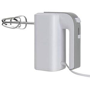 KUKU 150W Batteur Électrique avec 5 Vitesses Et 2 Fouets Métalliques Électriques Et Crochets À Pâte pour Pâtes, Œufs, Divers Confitures, Crème, sans BPA