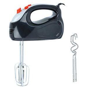 Mélangeurs à main WeZest Mélangeur à main électrique, mode 5 vitesses 150W Mélangeur puissant, avec accessoires de batteur en acier inoxydable, pour fouetter des gâteaux, de la pâte, de la pâte