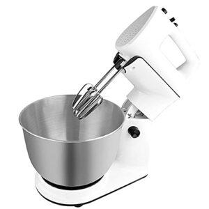 Mixeur Planétaire De 300 W, Robot De Cuisine 4 L, Mitigeur De Cuisine Pour Usage Alimentaire, 5 Vitesses Mixer Électrique De Cuisine Avec Crochet Pour Faire La Pâte, Fouet, Batteur