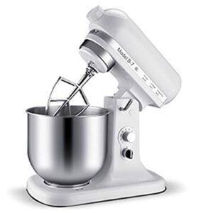 Mixeur Planétaire De 800 W, Robot De Cuisine 7L, Mitigeur De Cuisine Pour Usage Alimentaire, 10 Vitesses Mixer Électrique De Cuisine Avec Crochet Pour Faire La Pâte, Fouet, Batteur
