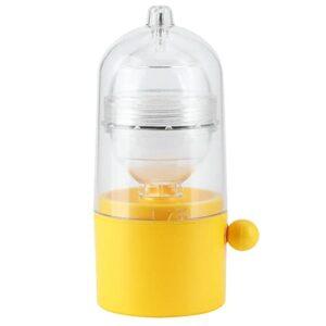 Batteur à œufs, matériau en Silicone n'endommage Pas la Coquille d'œuf Gadget de Cuisine Cordon de Serrage Haute densité pour œufs de différentes Formes et Tailles pour détendre Les Muscles