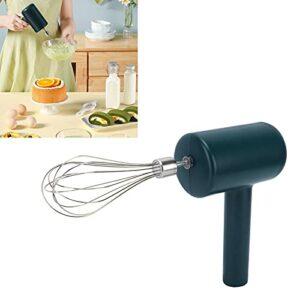 minifinker Batteur à Oeufs Portable, Batteur à Oeufs à Une Touche pour la Cuisine à Domicile