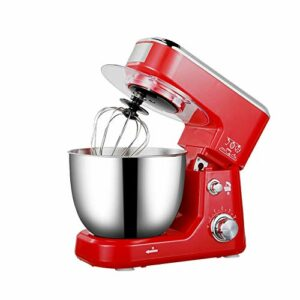 ZZABC DDQZDJBJ Bol en Acier Inoxydable électrique Support Mixeur crème Blender Pétrir gâteau de pâte à Pain Chef de la Machine Fouetter Les œufs Batteur (Color : C)