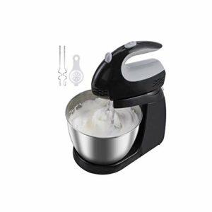 ZZABC DDQZDJBJ Électrique Portable de Bureau Alimentaire Blender Oeufs Batter Mixer 5 Speed Adjust Double Fouet gâteau de Cuisson Whipping Machine Crème