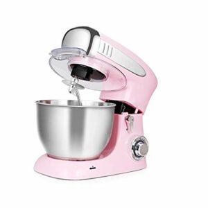 ZZABC DDQZDJBJ Rose mélangeur Vertical, mixeur Robot culinaire Pétrissage gâteau de Pain Crochet pétrisseur Fouet