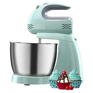 Mélangeur à gâteau électrique à 5 vitesses pour la cuisson du fouet à œufs fouet électrique pour la cuisson du gâteau à la cuisine batteur à crème glacée
