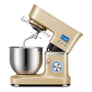 Batteurs sur socle électriques pour la cuisson avec 8 vitesses et réglage d'impulsion, parfaits pour la cuisson à domicile La cuisine comprend un crochet pétrisseur, un fouet