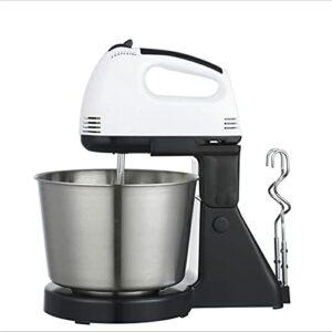 Fouet de bureau Mélangeur électrique Mélangeur électrique à la crème à la crème de cuisson de cuisson de cuisson de gâteau et machine d'œuf à la machine de nouilles