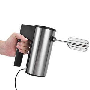 SALALIS Batteur à Oeufs, mélangeur électrique Fournitures de Cuisine de Conception détachable pour Les vinaigrettes Mousses, mélanges de crème, gâteaux au Fromage, meringues