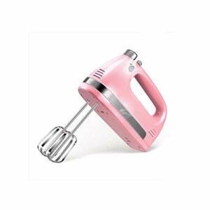SHYOD Mélangeur à main électrique à 5 vitesses fouet batteur à oeufs à main fouet alimentaire Mini mélangeurs maison cuisine oeuf mélangeur de nourriture (Color : B)