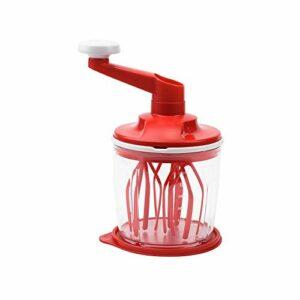 SLSFJLKJ Mélangeur Automatique d'oeufs de gâteau mélangeur mélangeurs sur Socle électrique Crochet de pâte Fouet Batteur de Farine à Main Pain Batteur d'oeufs mélangeurs