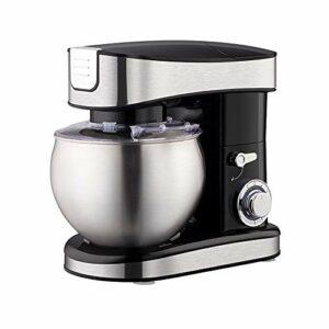 SMEJS Robot culinaire 6.5L 1500W 6 Vitesses Cuisine Batteur sur Socle crème Oeuf Fouet mélangeur gâteau pâte mélangeur Pain Machine
