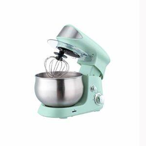 Yousiju Bol en acier inoxydable électrique Support Mixeur crème Blender Pétrir gâteau de pâte à pain Chef de la machine Fouetter les œufs Batteur (Color : A)